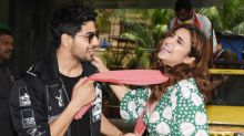Sidharth and Parineeti have most fun at the trailer launch of 'Jabariya Jodi'