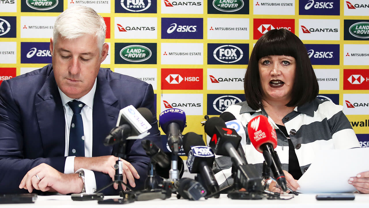 Rugby Australia's tumultuous year hits new low