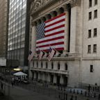 US STOCKS-S&P 500 inches closer to record high; Nasdaq down