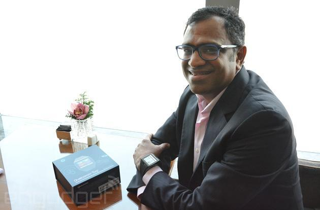 Qualcomm's Raj Talluri: wearable displays should always be on