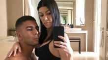 Kourtney Kardashian Straddles Boyfriend Younes Bendjima in Her Underwear, Gets Paid to Do It