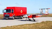Royal Mail tests drone deliveries to Isles of Scilly