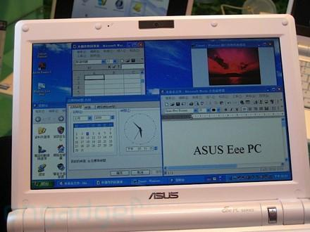 Asus and Microsoft working an Eee-targeted version of Windows 7?
