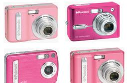 Polaroid offers four pink digicams in support of breast cancer research