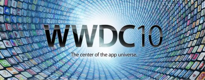 WWDC 2010 officially announced