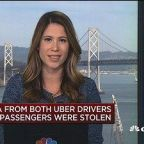 Data stolen from both Uber drivers and passengers in rece...