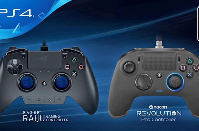 PlayStation 4 has a pair of controllers made for pro gamers
