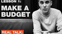 Justin Bieber promoting credit card for teens