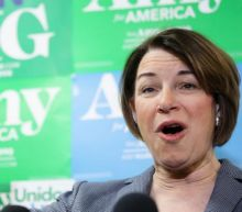 Klobuchar congratulates herself for 'exceeding expectations' as early Nevada results show her in distant 5th