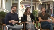 Watch the 'Neighbors 2' Cast Respond to Posts on Yahoo Answers, Like 'Can You Really Hot-Box An Entire House?'