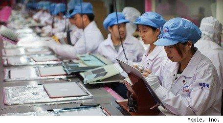 Apple supplier shows 95% overtime compliance in March 2012