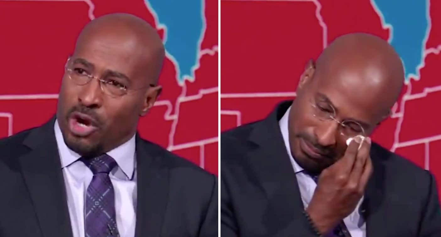 CNN host breaks down on air over Donald Trump defeat