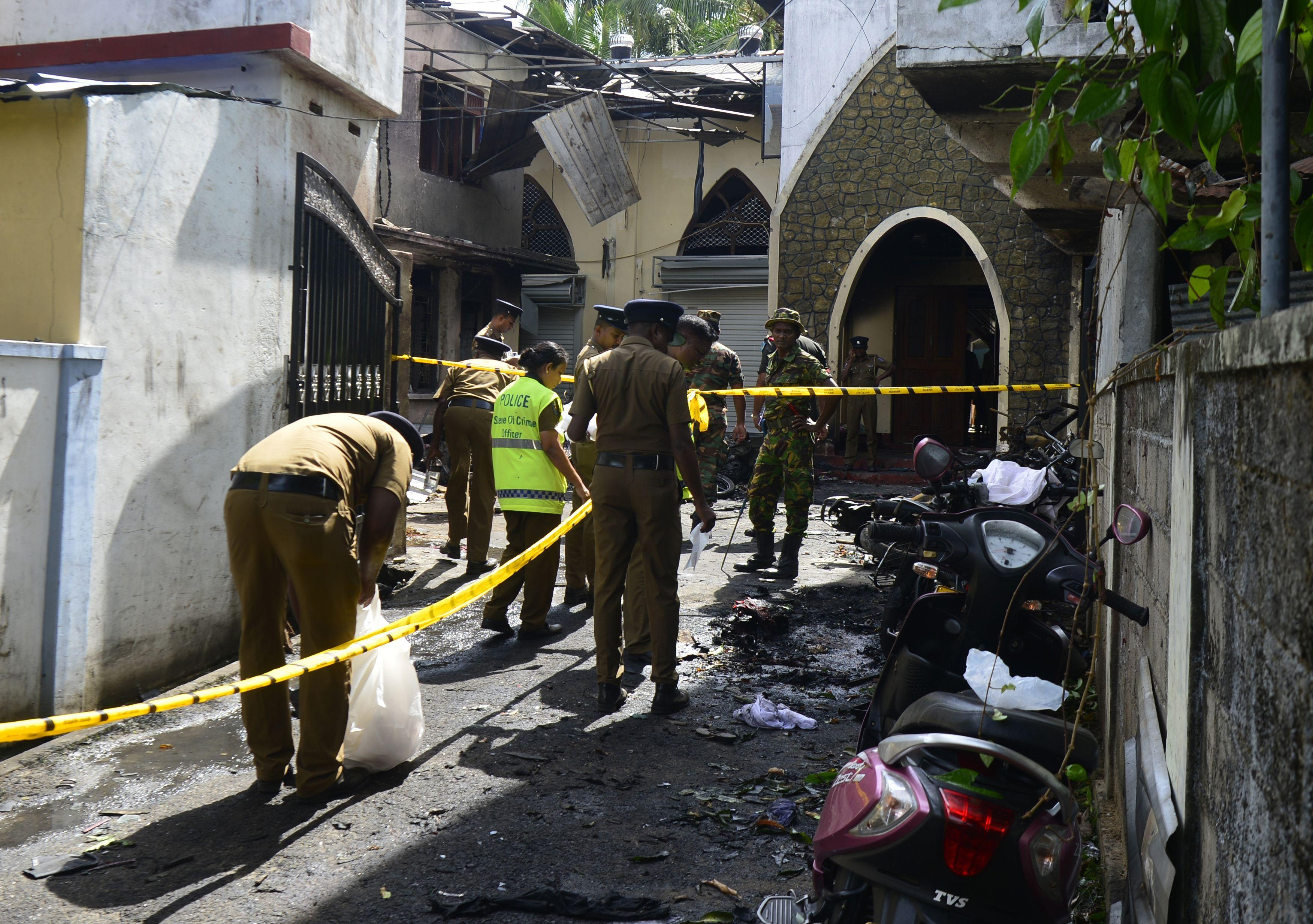 In expressing his condolences, Trump incorrectly said millions more had died in a deadly series of explosions in Sri Lanka