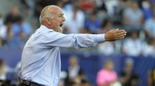Interim coach Dominic Kinnear hopes to keep the Galaxy from a last-place finish