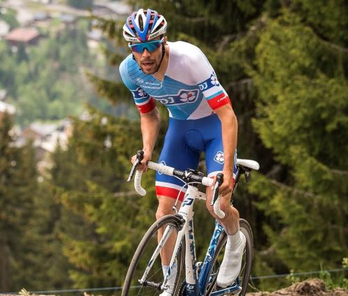 "Giro: ""L'objectif prioritaire, c'est le podium"", annonce Pinot"