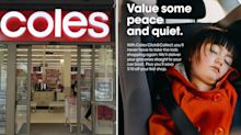 Shopper spots 'very unsafe' detail in Coles advertisement