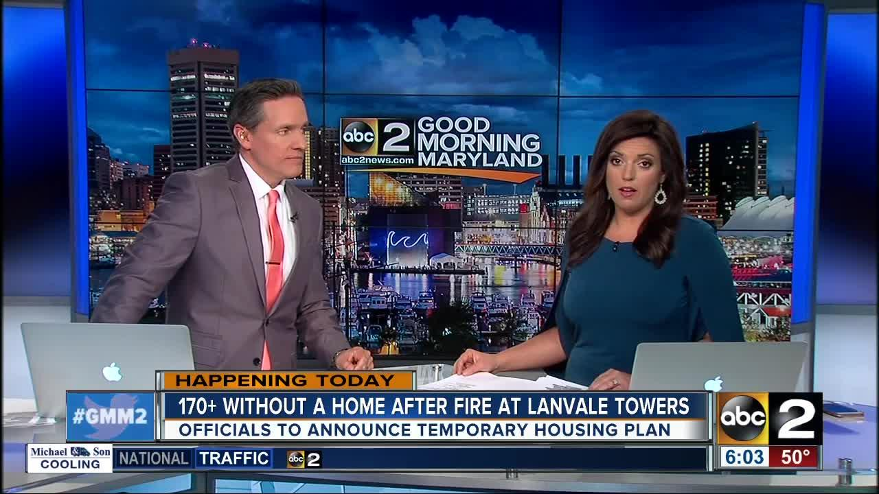 Officials To Announce Temporary Housing Plan After Lanvale Towers