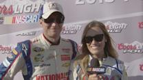 Out Front with Miss Coors Light: Quaker State 400