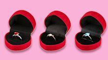 Poundland unveils £1 engagement rings in time for Valentine's Day