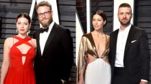 Seth Rogen and His Wife Think Justin Timberlake and Jessica Biel Are the 'Better Looking Version of Us'