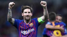 Lionel Messi wins European Golden Shoe for record third successive year after Kylian Mbappe falls short
