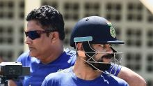 Twitter goes crazy as Virat Kohli deletes his old tweet welcoming Kumble as coach and unfollows him