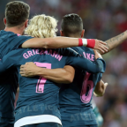 Simeone lauds 'different class' Griezmann