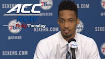 UNC's J.P. Tokoto Introduced By The Philadelphia 76ers | ACC Now