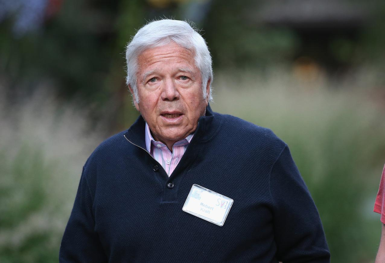 Patriots Owner, Finance Titans Caught in Prostitution Sting