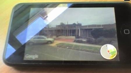 iPod touch gets Street View, beats iPhone 3G at tennis