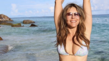 Elizabeth Hurley, 52, Flaunts Her Epic Bikini Body at the Beach (and on Instagram)