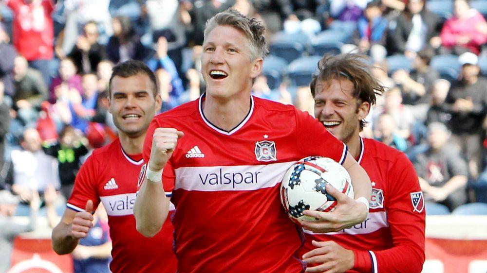 Schweinsteiger debuta con gol a los 17 minutos con el Chicago Fire