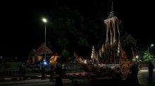 Thailand rehearses lavish $90 million funeral for late king