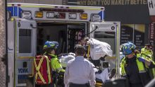 Van plows down multiple pedestrians in Toronto