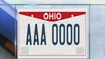 6am: New Ohio license plates
