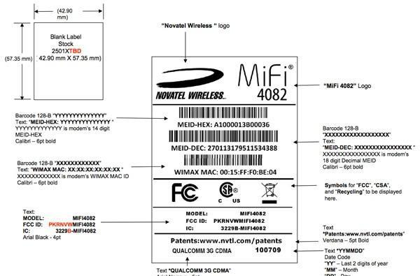 Novatel's MiFi 4082 is the WiMAX-capable hotspot the Overdrive has been dreading