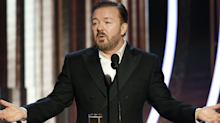 Ricky Gervais's Golden Globes monologue gathers support from Yahoo readers