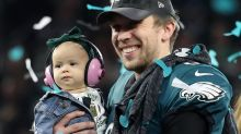 MVP's adorable daughter steals the show after Super Bowl