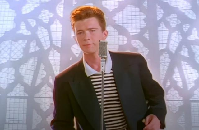AI has remastered Rick Astley's 'Never Gonna Give You Up' in glorious 4K