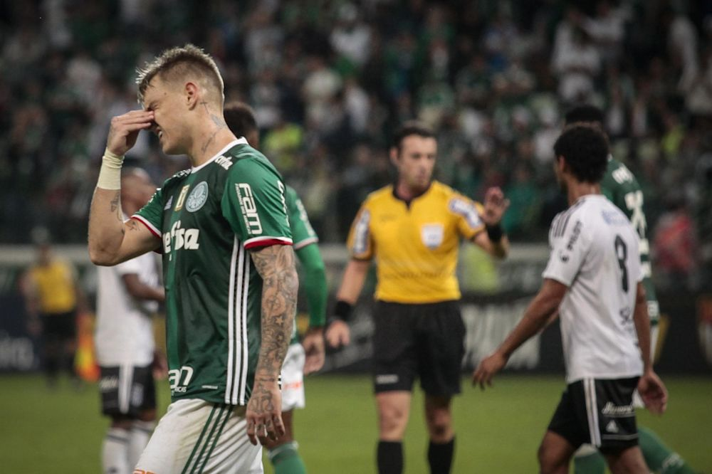 Roger Guedes. Palmeiras e Ponte Preta em jogo de volta valido pela semi-final do campeonato Paulista 2017, no Allianz Parque, zona oeste da capital. (Gazeta Press)