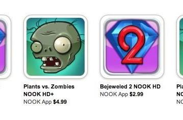 EA bringing more games to Barnes & Noble's Nook HD and Nook HD+