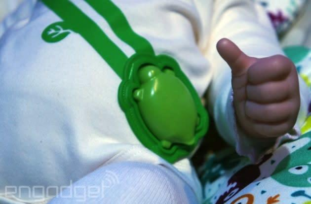 The internet of toddlers: Intel shows off a smart baby onesie