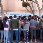 Thousands of migrants arrive at US southern border