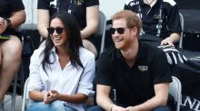 Britain's Prince Harry makes first public appearance with girlfriend