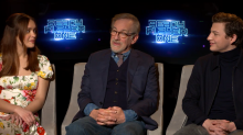 Is 'Ready Player One' the geekiest movie ever made? Steven Spielberg and cast weigh in