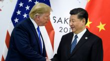 Trump says on verge of China trade deal