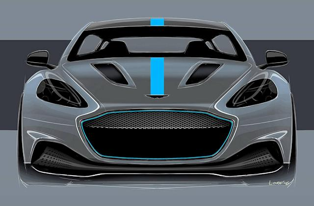 Aston Martin's all-electric supercar launches in 2019