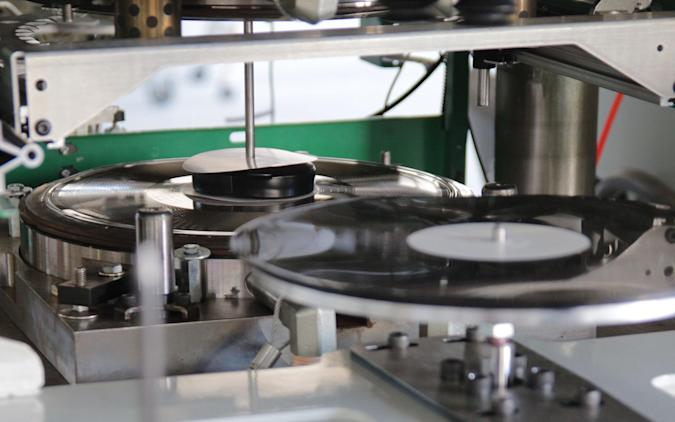 Vinyl record production gets a much-needed tech upgrade