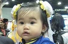 Baby Chun-Li imparts an important lesson