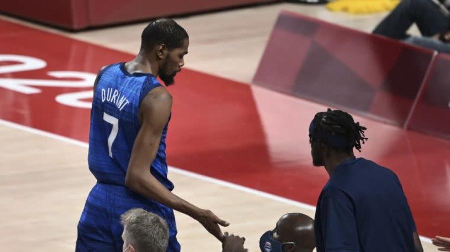 輸法國後  杜蘭特如何才能帶領美國男籃拿金牌?